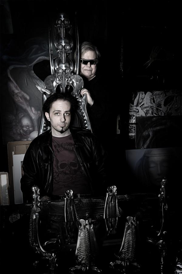 Me & H.R. Giger